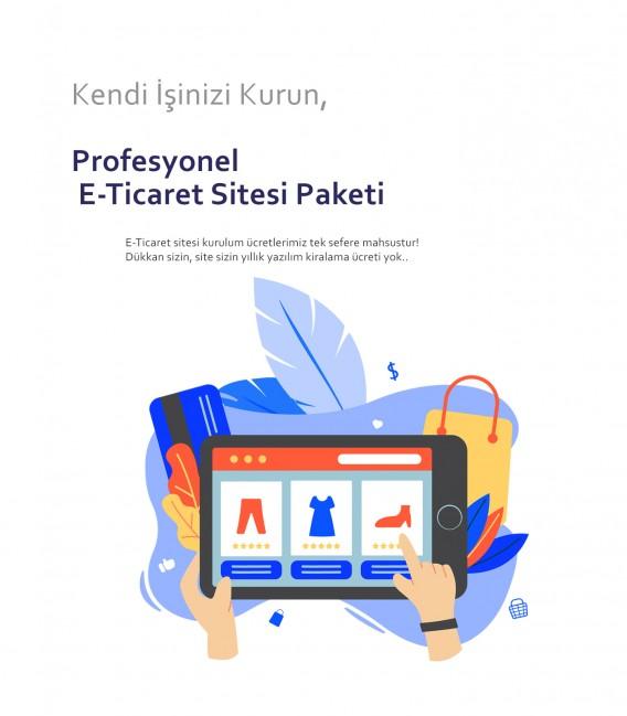 Profesyonel E-Ticaret Sitesi Paketi