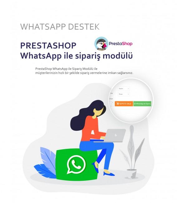 Prestashop WhatsApp Sipariş Modülü