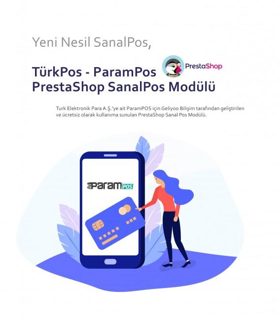 TürkPos - ParamPOS PrestaShop Sanal Pos Modülü